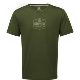 Sherpa Tashi Miehet Lyhythihainen paita , vihreä